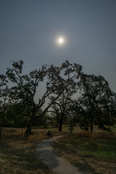 During the almost-totality 10:18 am
